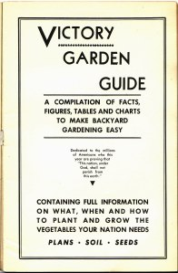 Victory Garden Guide - Title Page