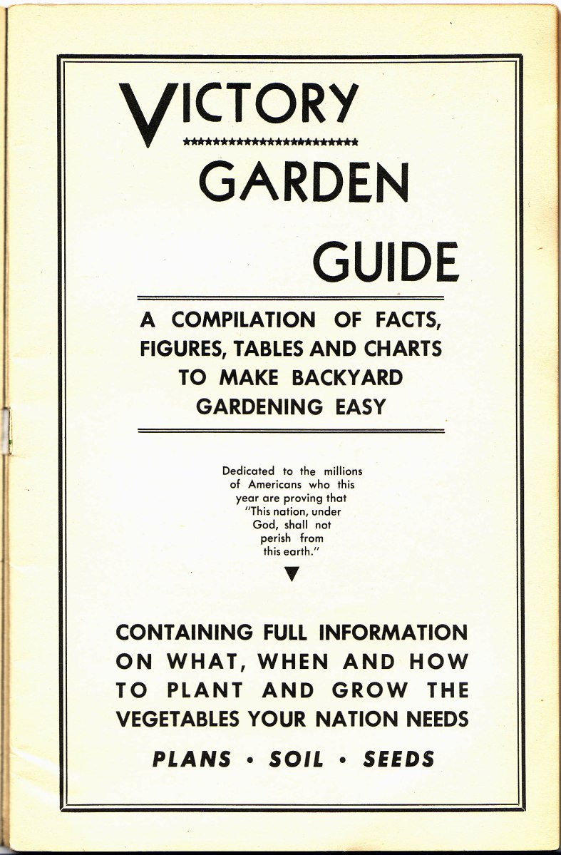 Victory Garden Guide - Free PDF